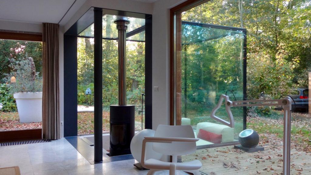 Glazen Vloer Huis : Glazen huis hoflaan bergen je architecten